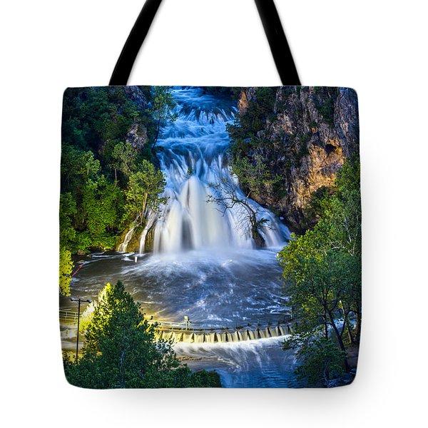 Turner Falls Oklahoma Tote Bag