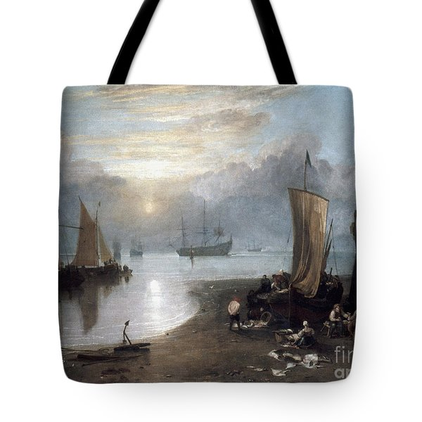 Turner: Sun Rising C1807 Tote Bag by Granger