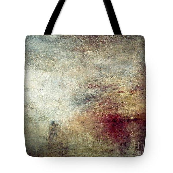 Turner: Sun Setting, C1840 Tote Bag by Granger
