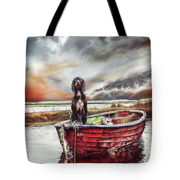 Turner's Dog Tote Bag