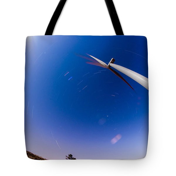 Turning Night Into Day Tote Bag