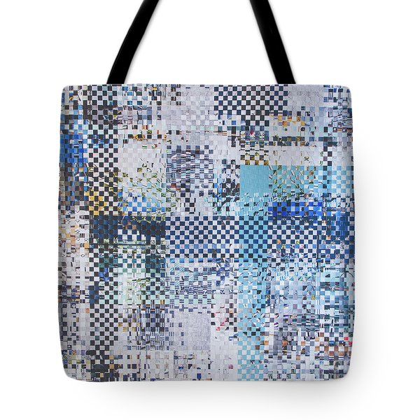 Tote Bag featuring the mixed media Turning Tide by Jan Bickerton