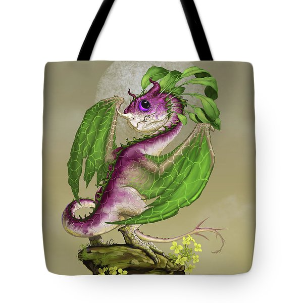 Turnip Dragon Tote Bag