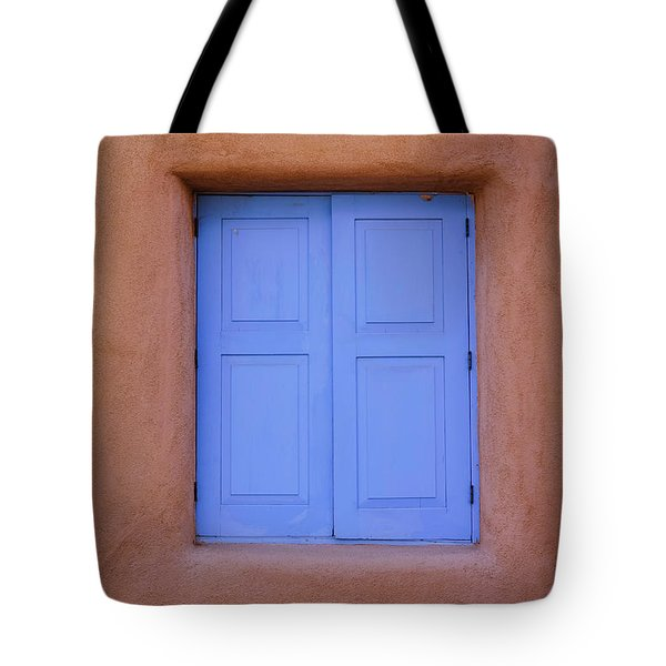 Tote Bag featuring the photograph Turquoise And Adobe by Heidi Hermes