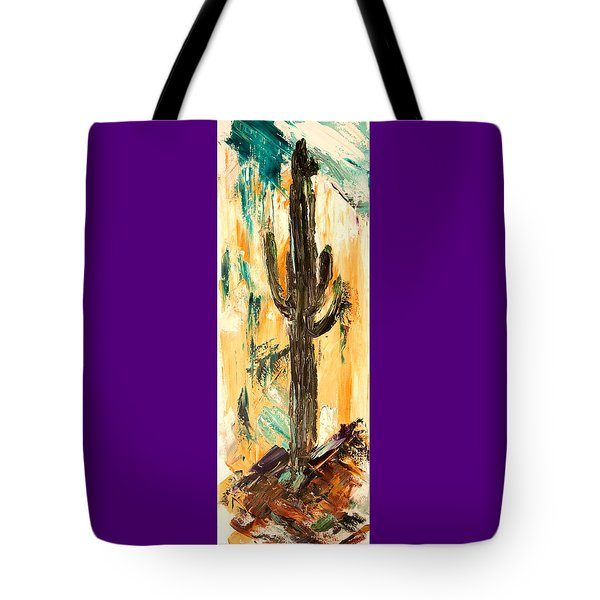 Turquoise And Topaz Tote Bag