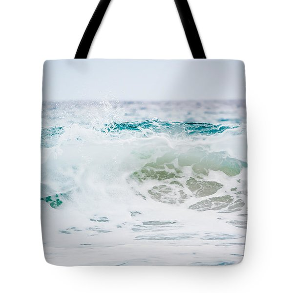 Turquoise Beauty Tote Bag by Shelby Young
