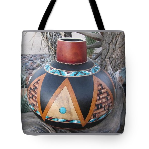 Turquoise Dream Go63 Tote Bag by Barbara Prestridge