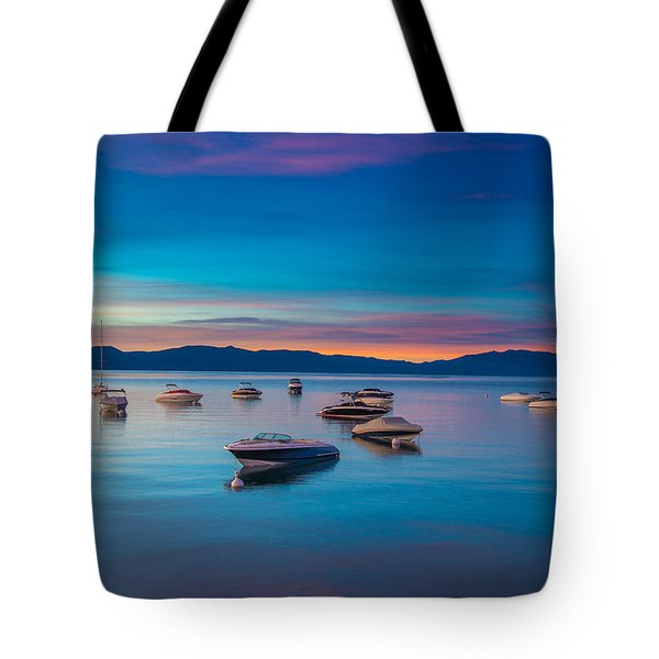 Turquoise Dream Tote Bag