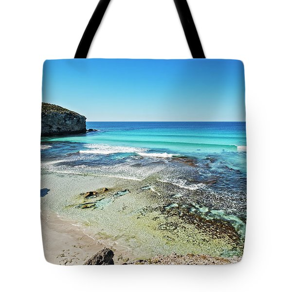 Turquoise Paradise Tote Bag