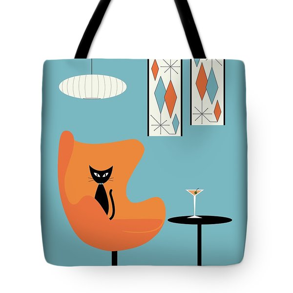 Turquoise Room Tote Bag