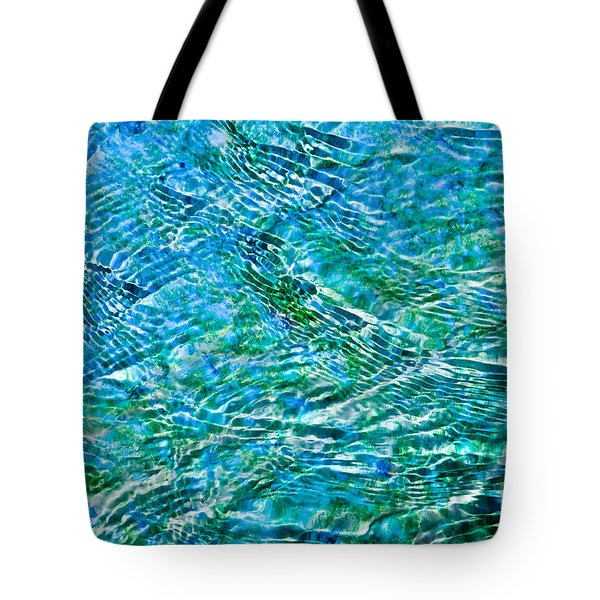 Turquoise Water Tote Bag