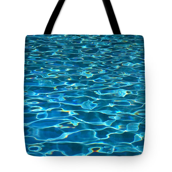 Turquoise Water Ripples Tote Bag by Kyle Rothenborg - Printscapes