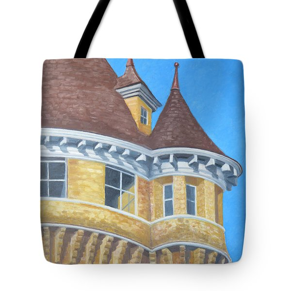 Turrets Of Lawson Tower Tote Bag