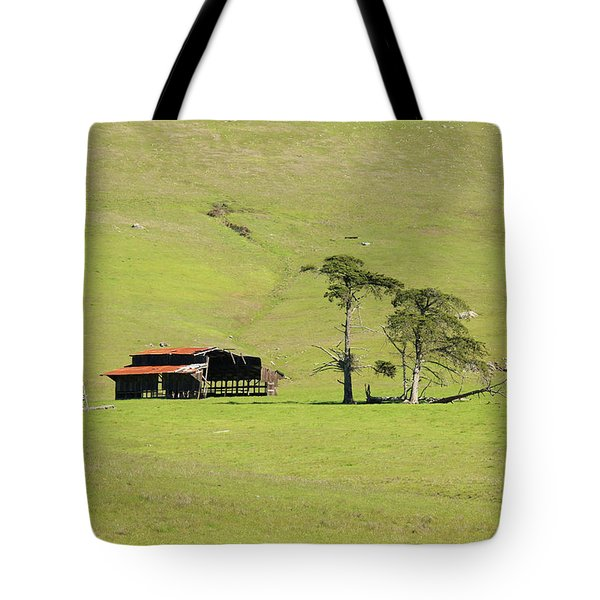 Tote Bag featuring the photograph Turri Road - San Luis Obispo Ca by Art Block Collections