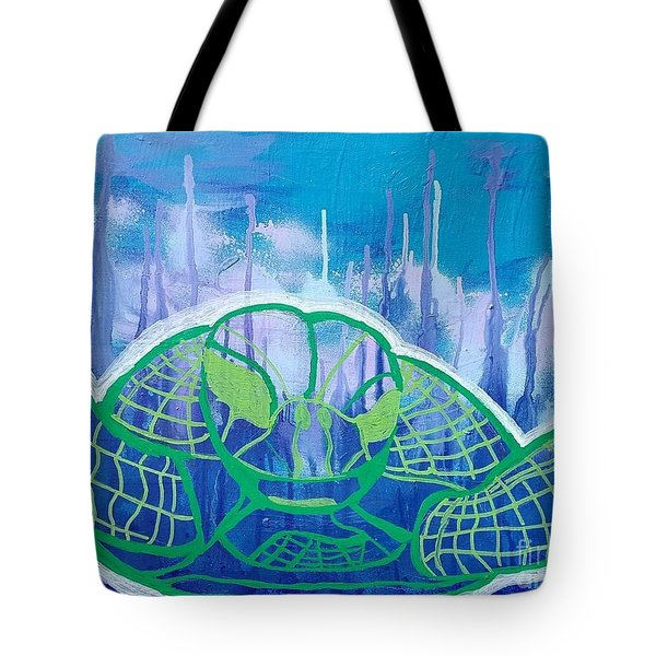 Turtle Tote Bag by Andres Pola