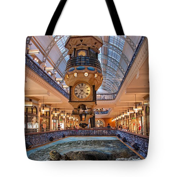 Tote Bag featuring the photograph Turtle At The Mall by Harry Spitz
