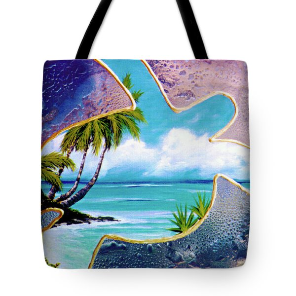 Turtle Bay #144 Tote Bag by Donald k Hall
