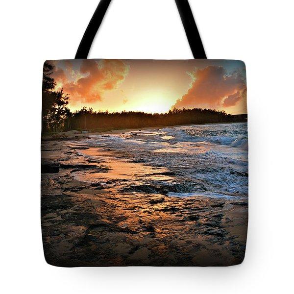 Turtle Bay Sunset 1 Tote Bag