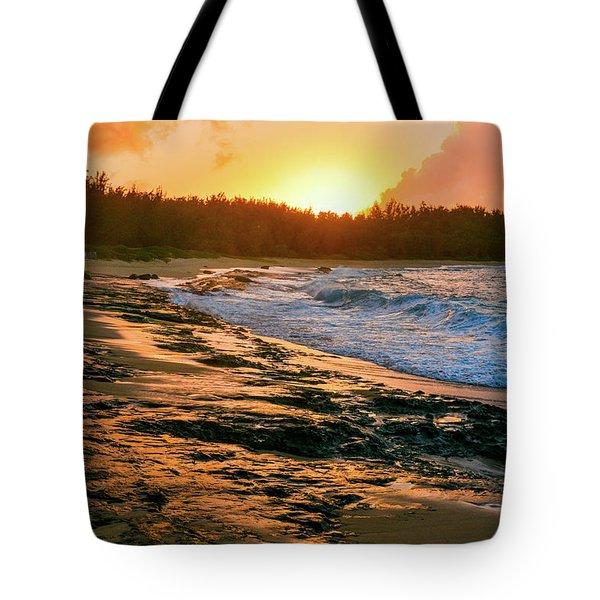 Turtle Bay Sunset 2 Tote Bag