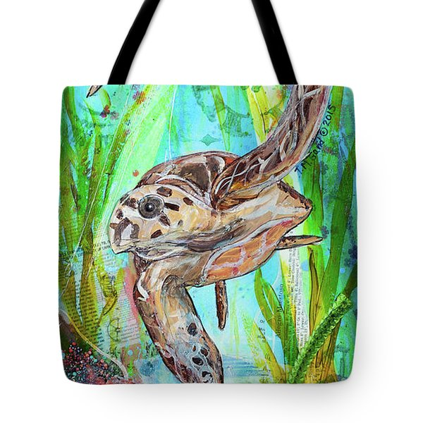 Turtle Cove Tote Bag