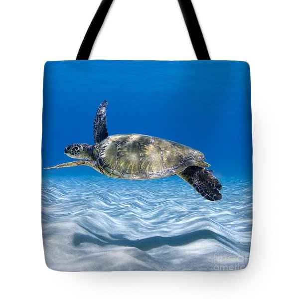 Turtle Flight -  Part 2 Of 3  Tote Bag