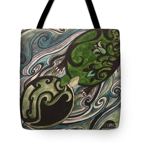 Turtle Love Tote Bag
