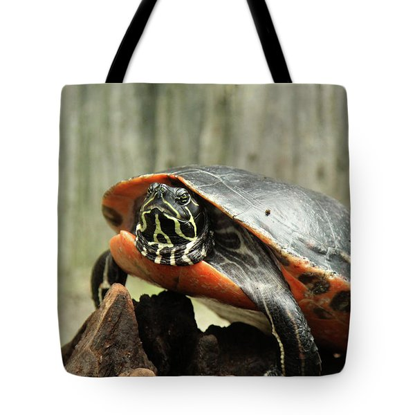 Turtle Neck Tote Bag