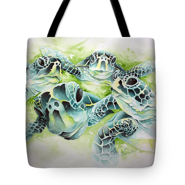 Turtle Soup Tote Bag by William Love
