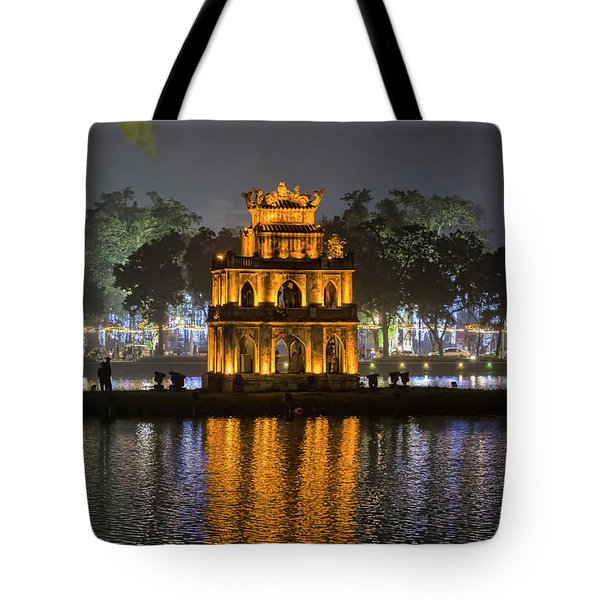 Turtle Tower IIi Hanoi Tote Bag