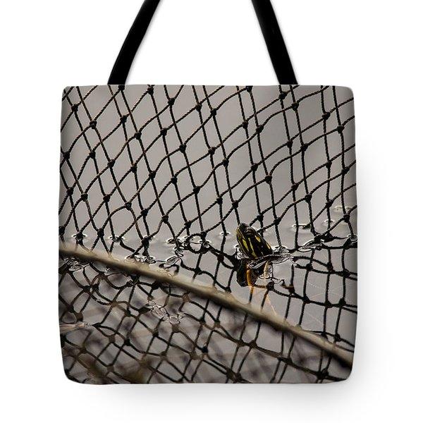 Turtle Trap Tote Bag