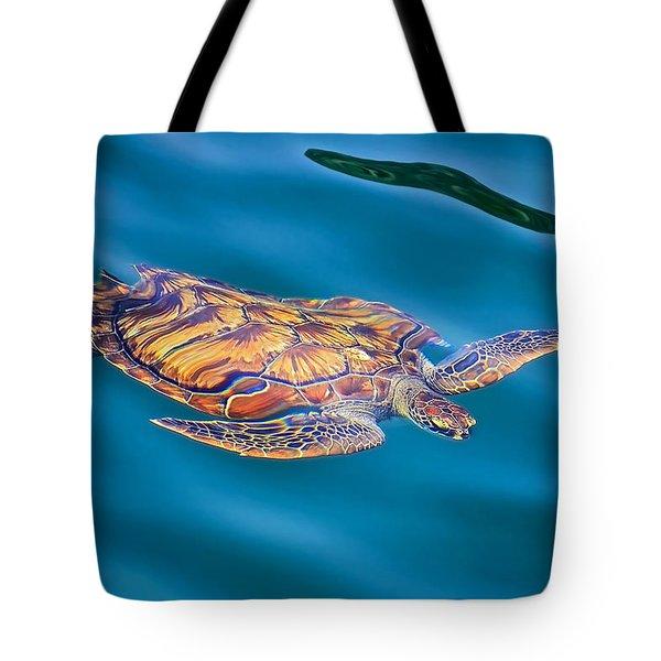 Turtle Up Tote Bag