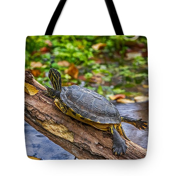 Turtle Yoga Tote Bag