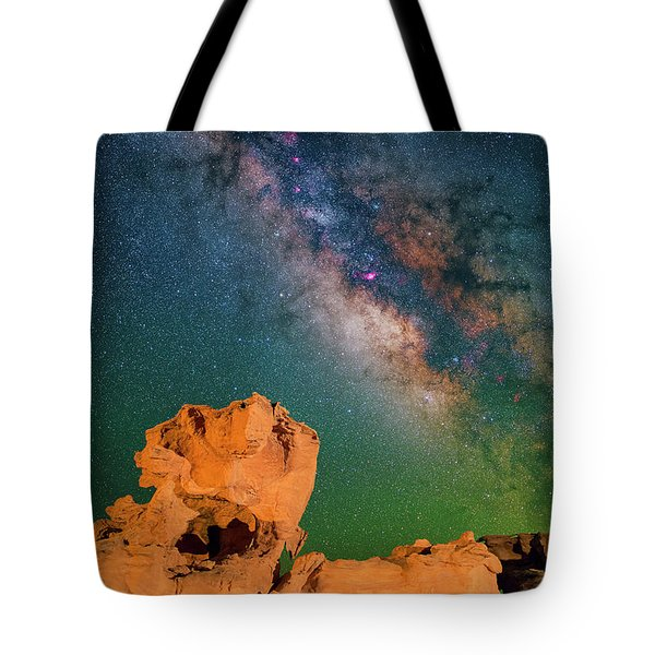 Turtles All The Way Down Tote Bag