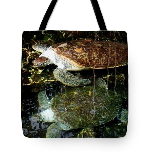 Turtles Tote Bag by Angela Murray