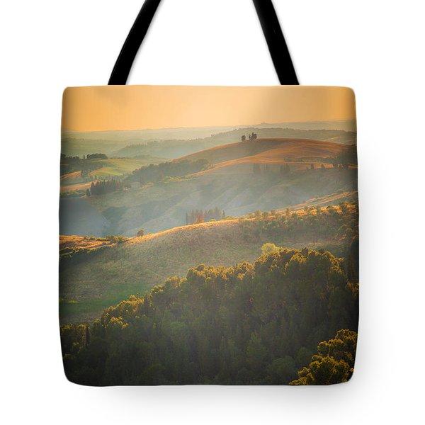 Tuscan Hills Tote Bag