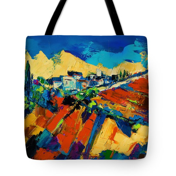 Tuscan Light Tote Bag by Elise Palmigiani