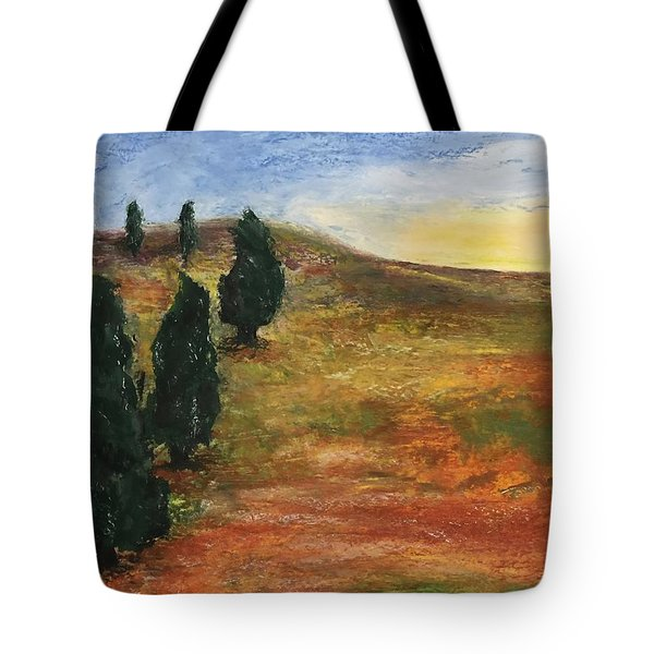 Tuscan Lights Tote Bag