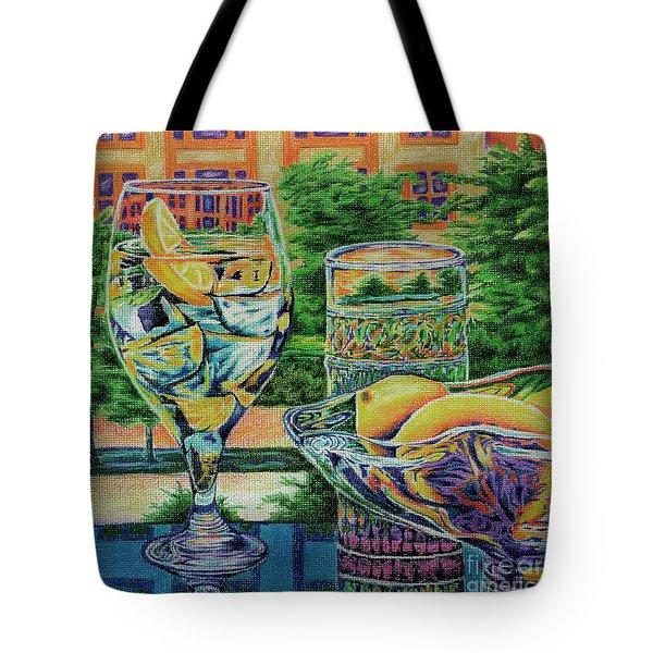 Tuscan Summer Lemonade  Tote Bag by Peter Piatt