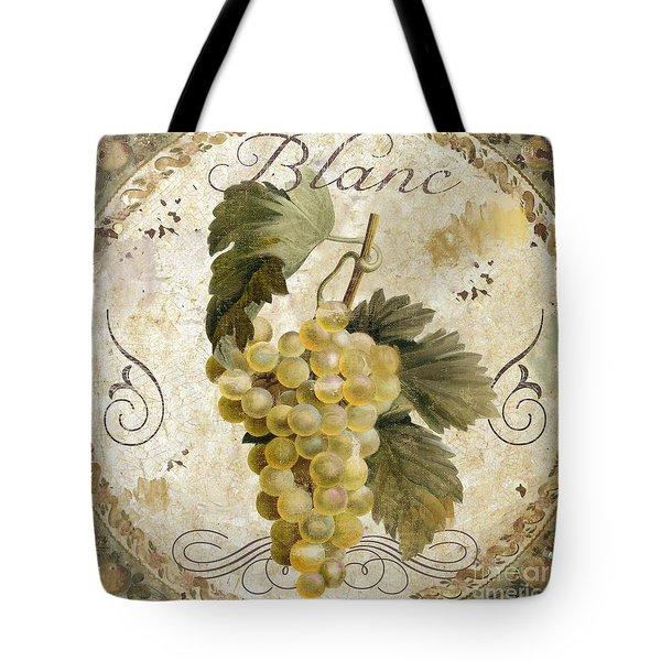 Tuscan Table Blanc Wine Tote Bag