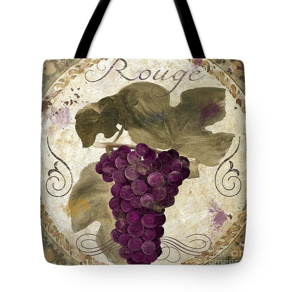 Tuscan Table Rouge Tote Bag