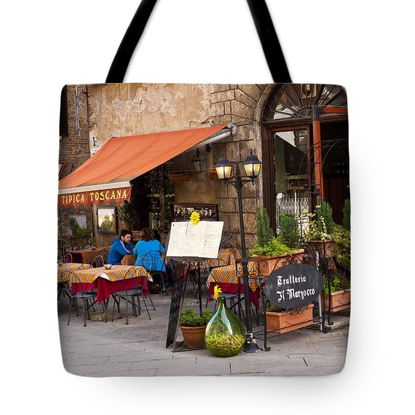 Tuscan Trattoria Tote Bag by Rae Tucker