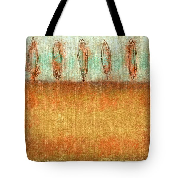 Tuscan Trees In Sienna Tote Bag