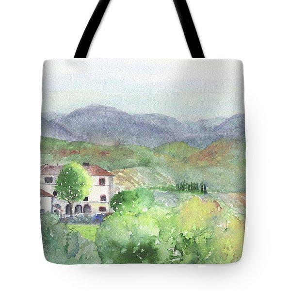 Tuscan Vineyards Tote Bag