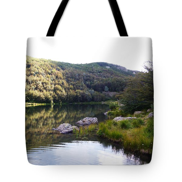 Tuscany And Water Tote Bag