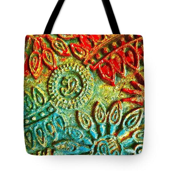 Tuscany Batik Tote Bag by Gwyn Newcombe