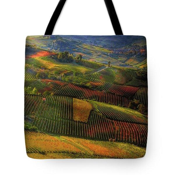 Tuscany, Italian Wineyards  Tote Bag