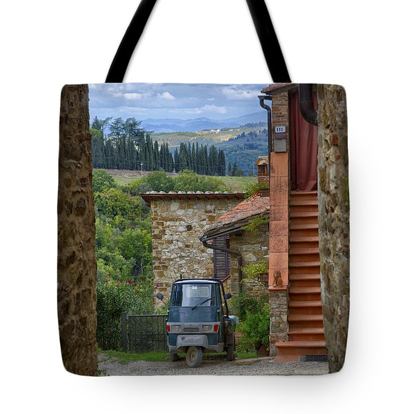 Tuscany Scooter Tote Bag