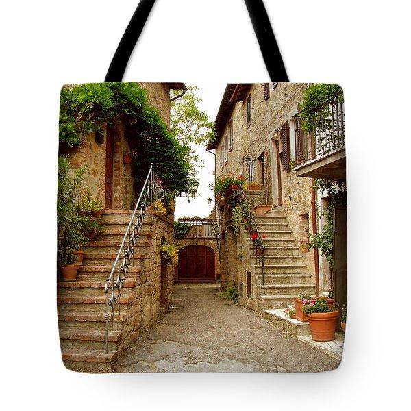 Tuscany Stairways Tote Bag