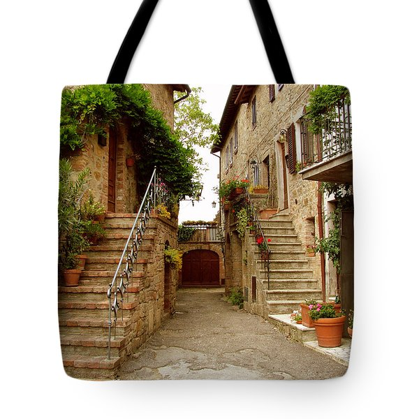 Tuscany Stairways Tote Bag