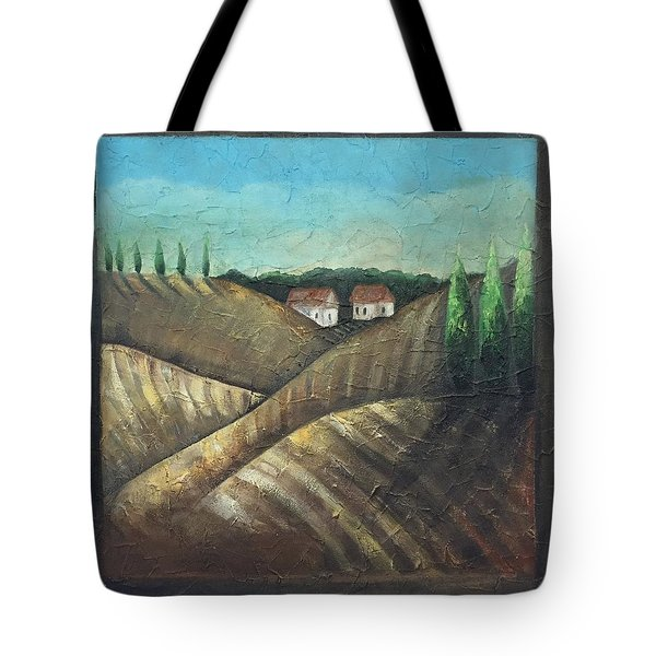Tuscany Trees Tote Bag